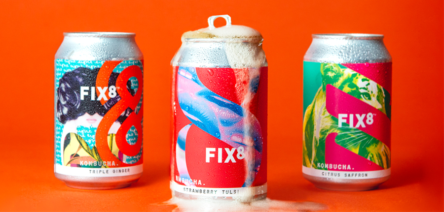 Fix8 Launches Kombucha In Cans photo