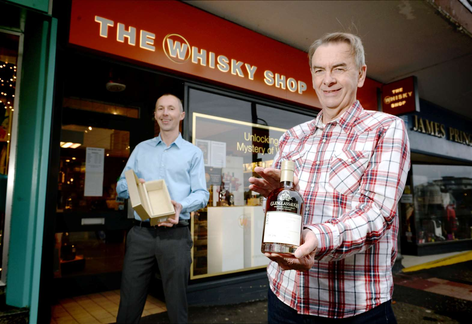 Win Of £999 Bottle Of Whisky Is A Dram Coincidence For Highland Man photo