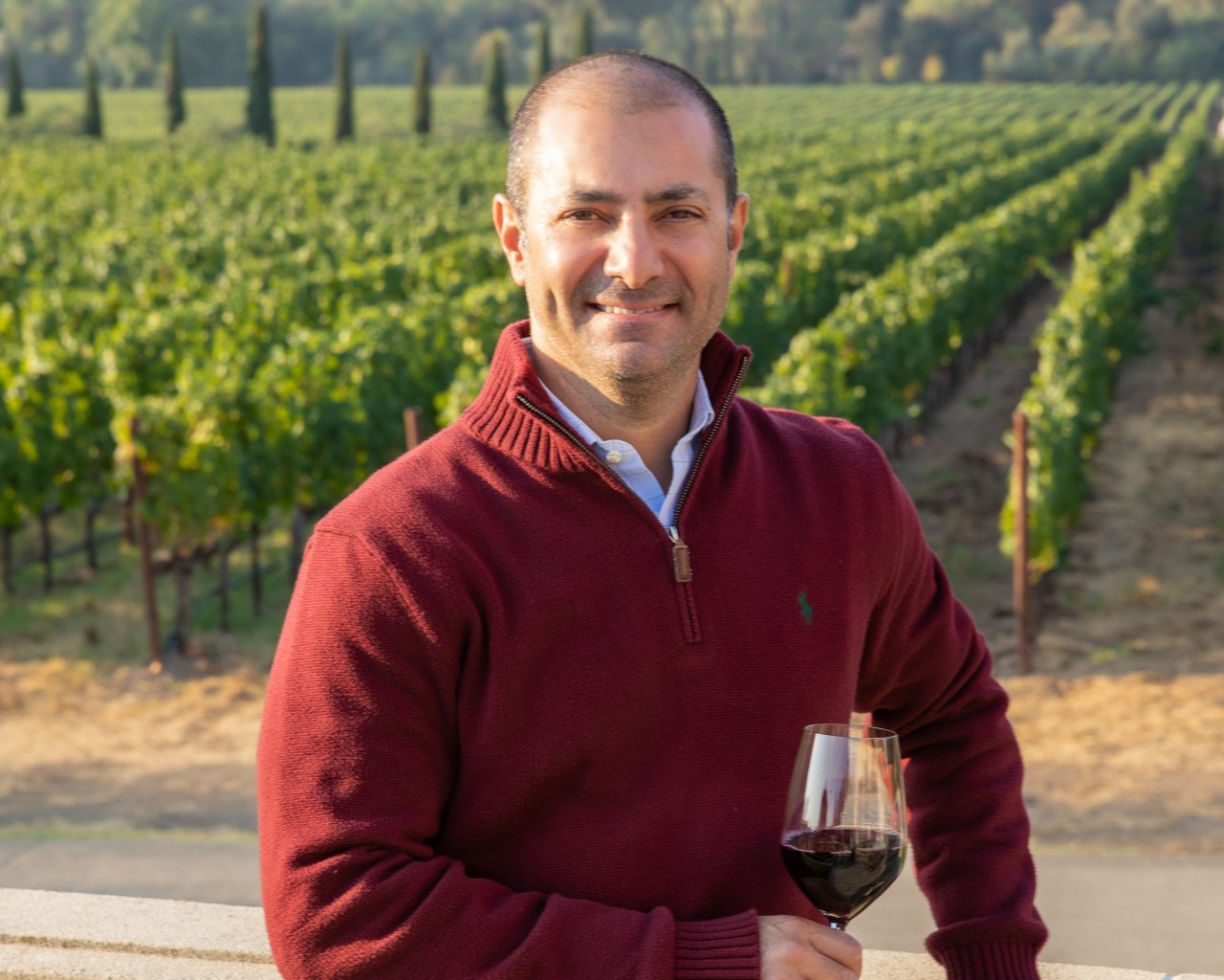 """Gerard Thoukis Of Foley Family Wines Wins """"wine Executive Of The Year"""" Wine Star Award Awarded By Wine Enthusiast Magazine photo"""