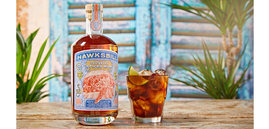 Icb's New Spiced Rum Pledges Support For The Endangered Hawksbill Turtle photo