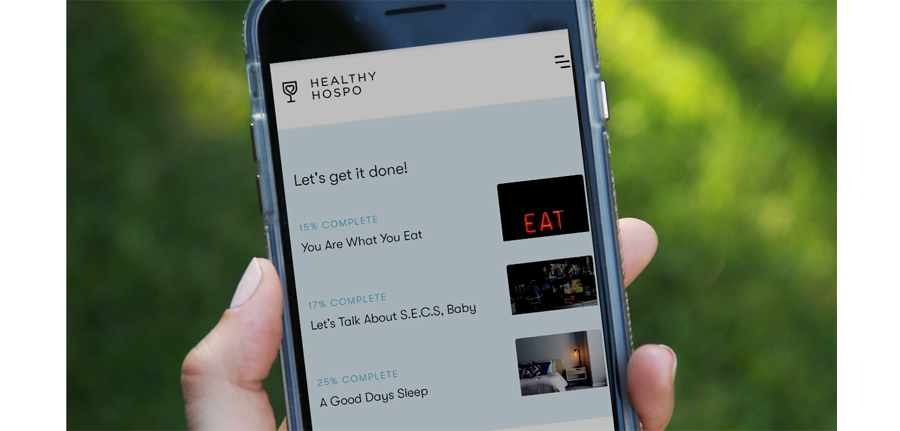 Healthy Hospo Creates Digital Training Platform Dedicated To Health And Wellness photo
