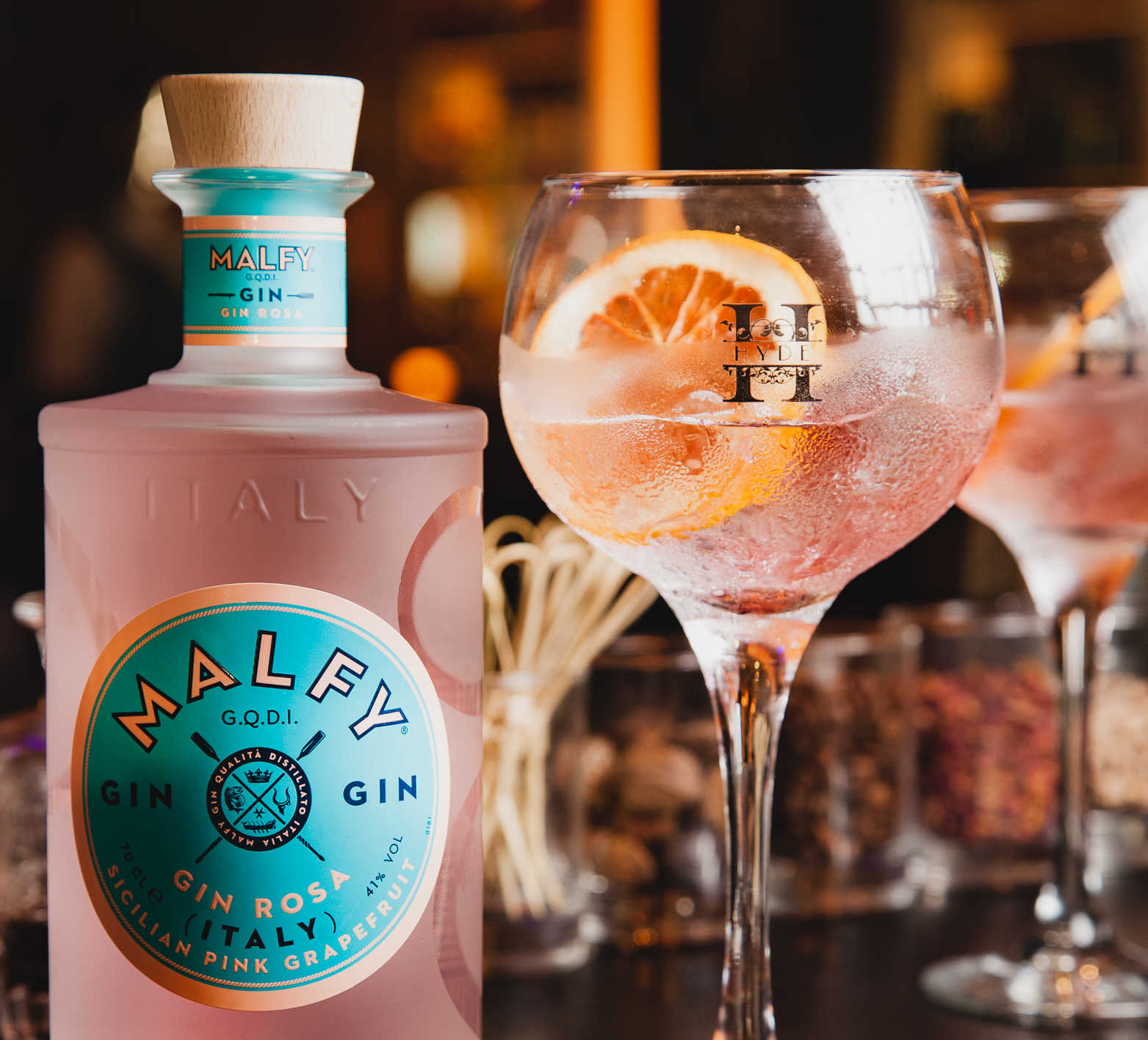 Enjoy A Taste Of Italy With The Hyde Bar's Virtual Malfy Gin Tasting photo