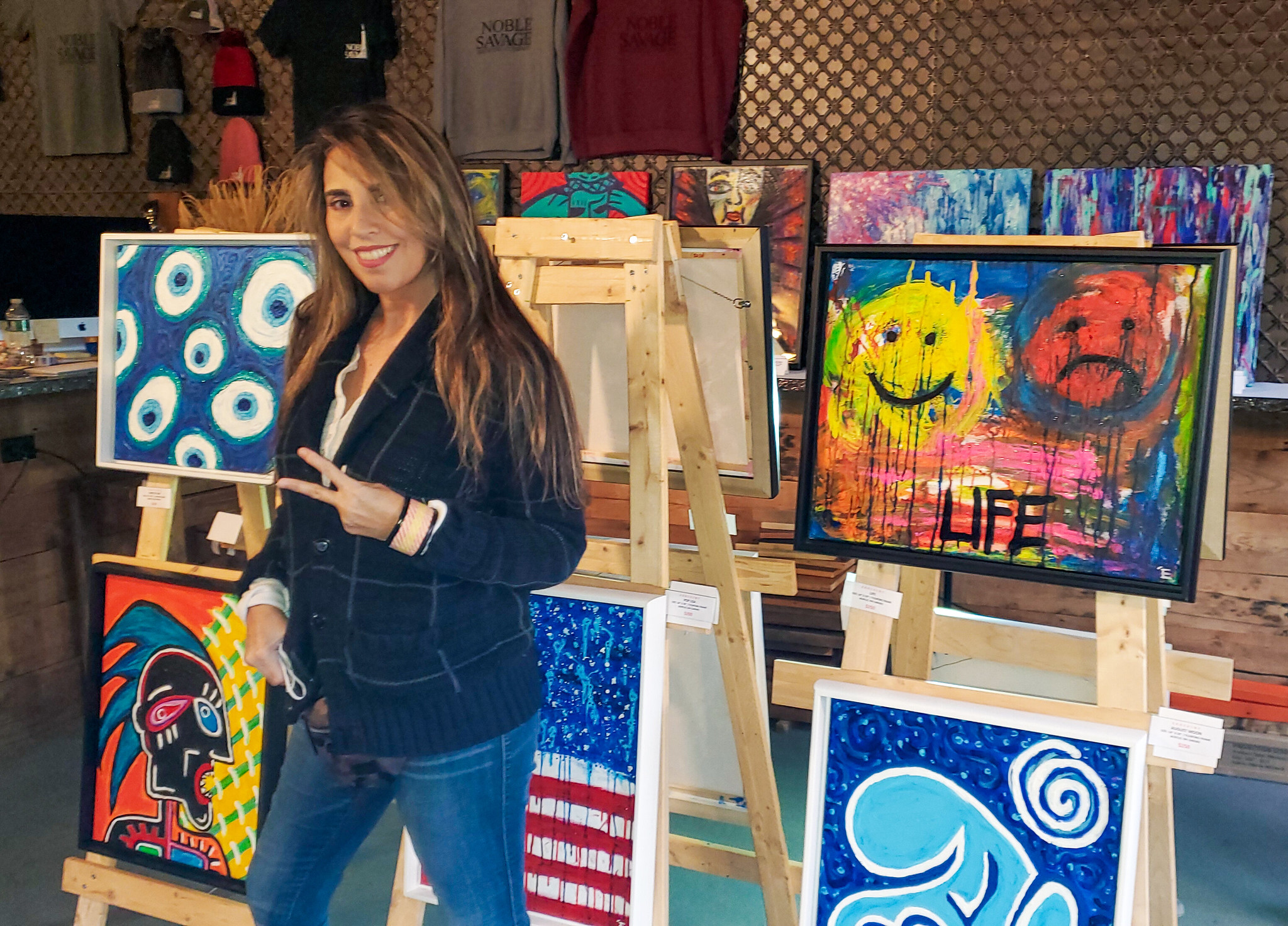 Contemporary Artist Showcases Work At Brewery In Glen Cove photo
