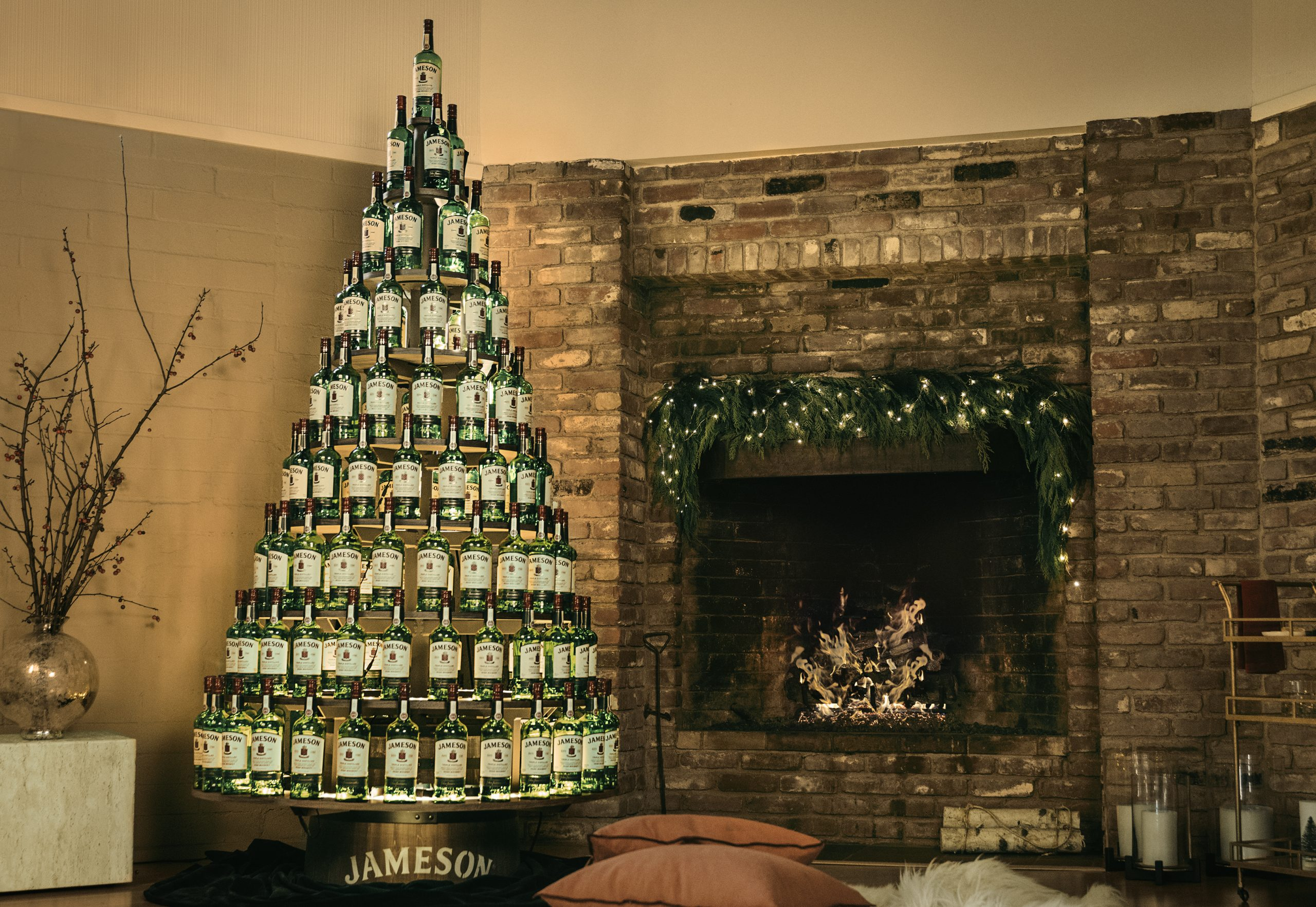 Jameson Whiskey Offering Chance To Win $5,000 'whiskey Tree' For The Holidays photo