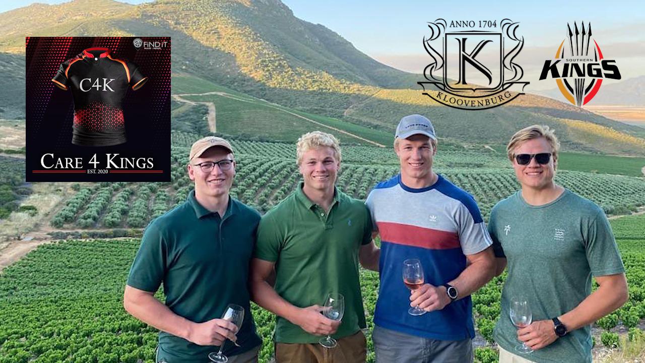 Watch: Pieter-steph Du Toit Backs Care 4 Kings Online Wine Auction photo
