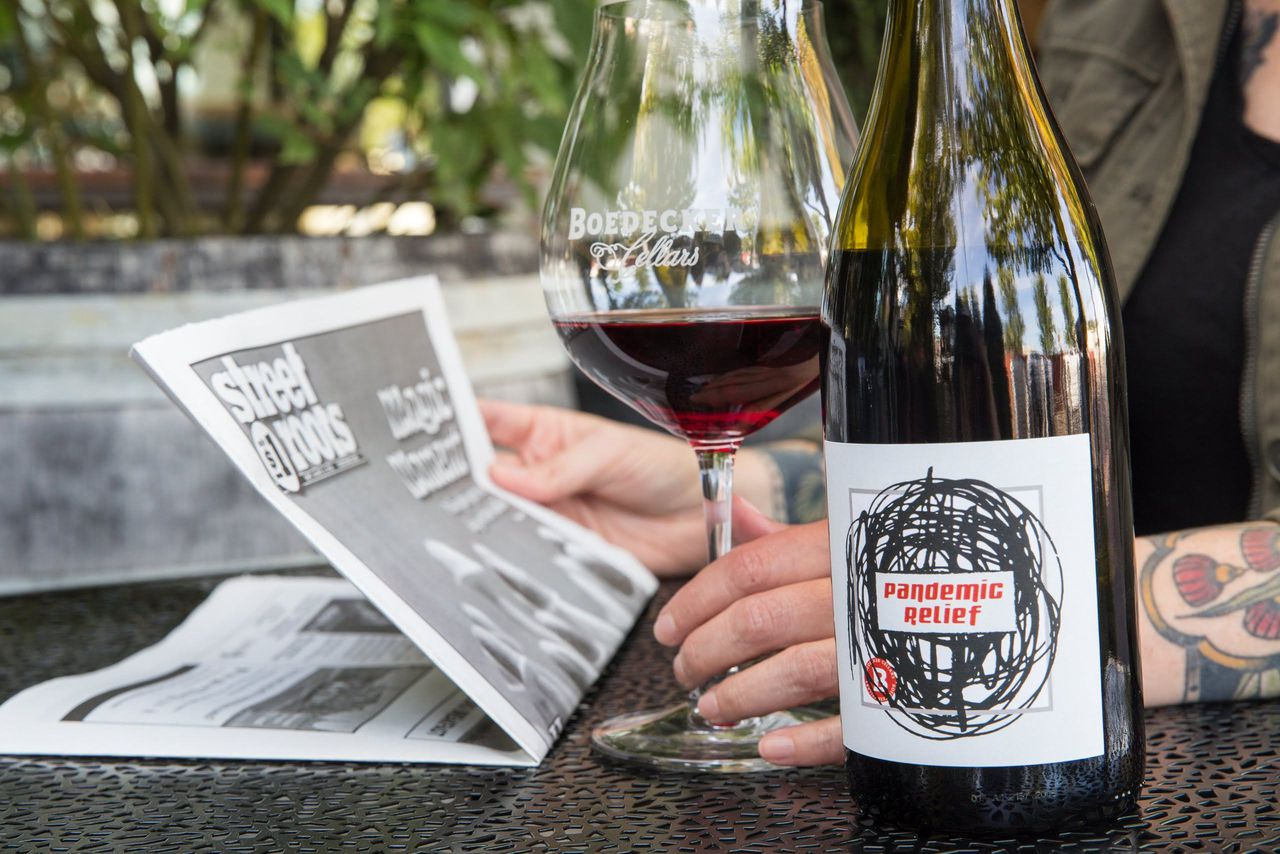 Plagued By Crises, Willamette Valley Wineries Are Still In The Giving Mood photo