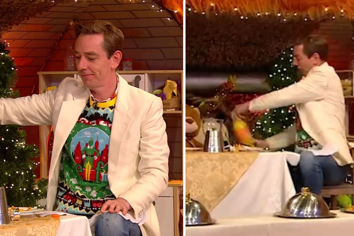 Toy Show Viewers Spot Ryan Tubridy Dropping 'f Word' After Fanta Explodes photo