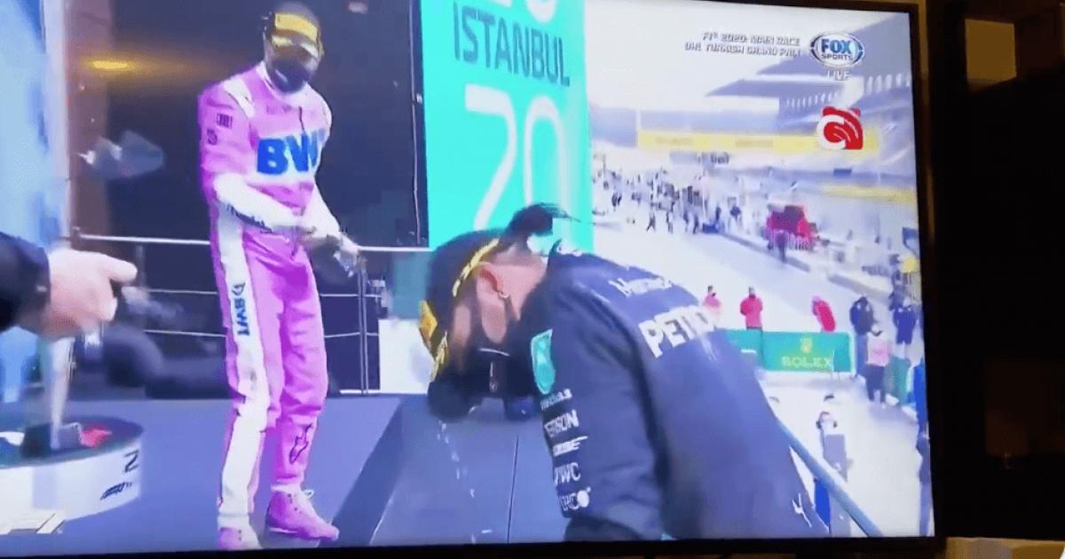 Turkey F1 Celebrations Fall Flat Without Champagne photo