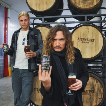 Signature Brew And The Darkness Team Up On Beer photo