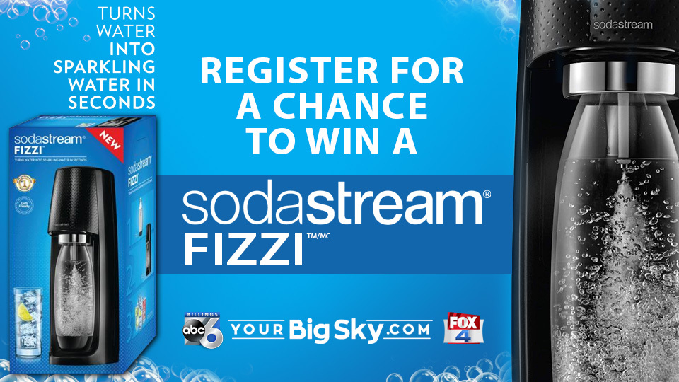 Register For A Chance To Win A Sodastream Fizzi! photo