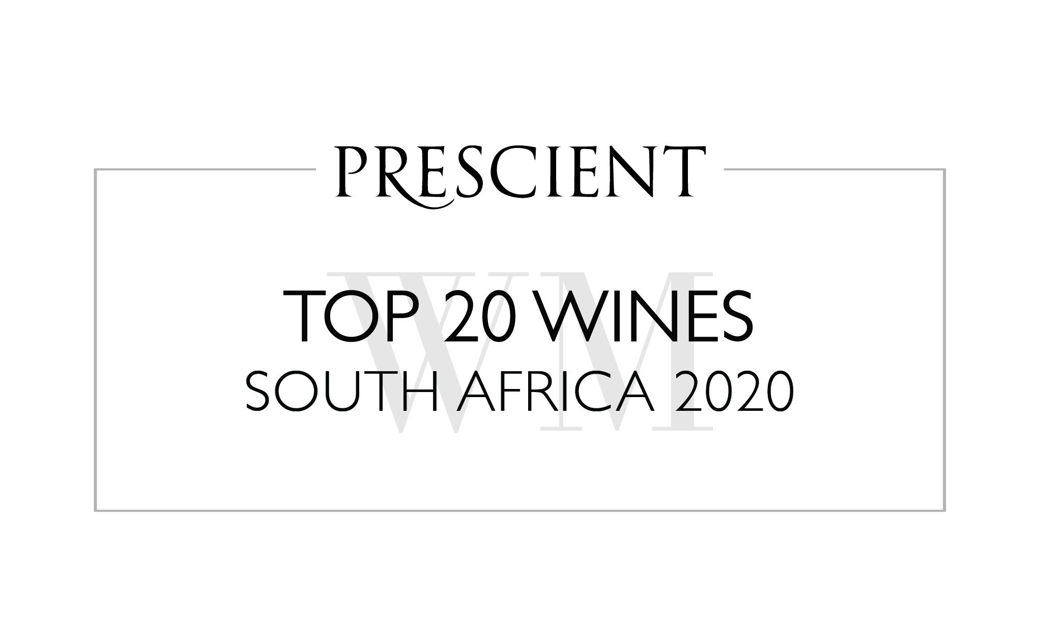 Prescient Top 20 Wines South Africa 2020 Report photo