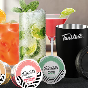 Bacardi Taps Into At-home Cocktails With Twistails Pods photo