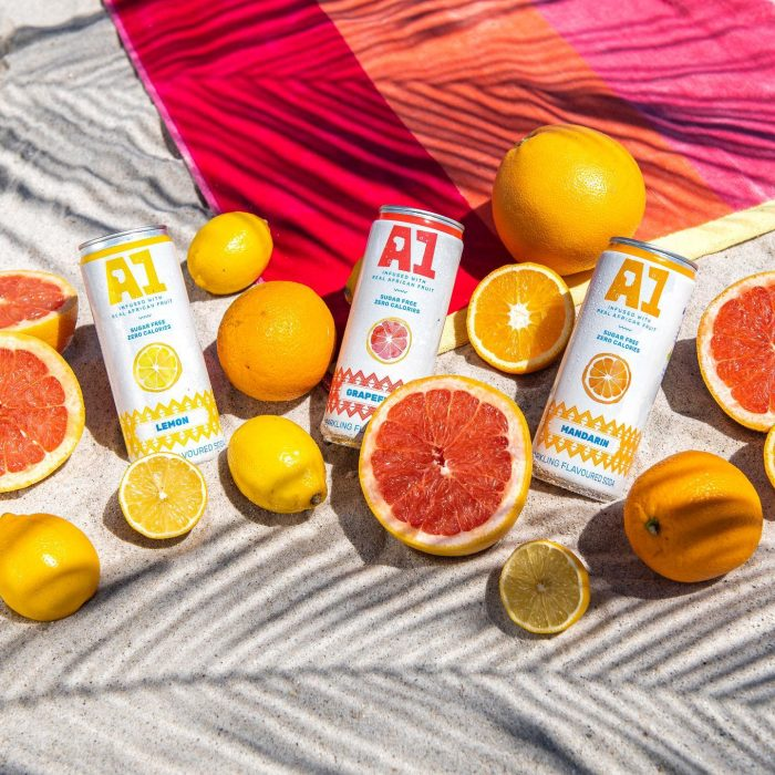 a1 fruit sparkling water 700x700 A1 Fruit Water With Zero Calories Launches in South Africa