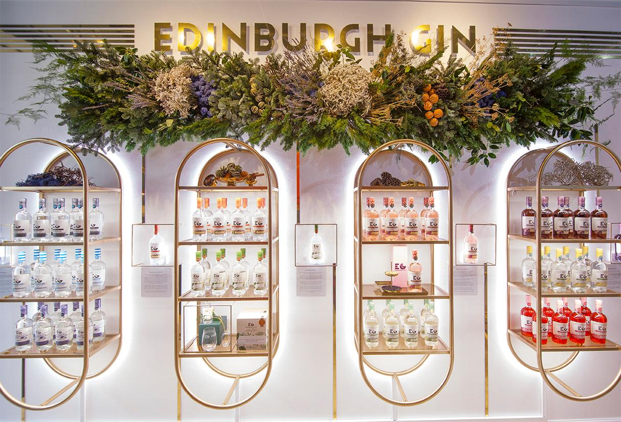 Edinburgh Gin Has Today Opened A Christmas Pop-up Store In The Capital. photo
