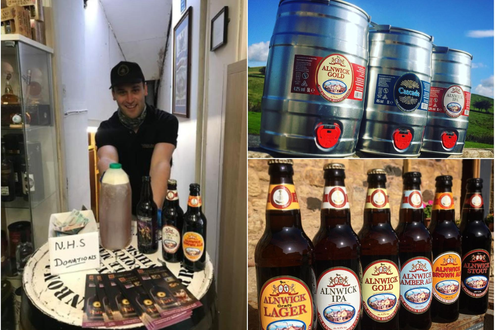 Alnwick Brewery Company Steps Up Home Delivery Service During The Second Lockdown photo