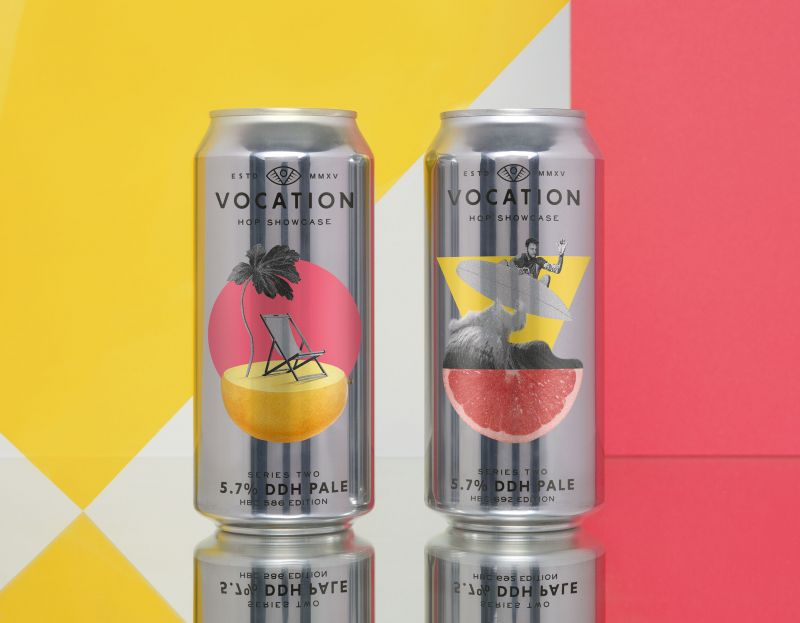 Robot Food's 'artistic' Designs For Vocation Brewery's New Limited-edition Hops Series photo