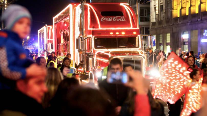 Coca Cola Confirms Its Truck Is Cancelled This Year Due To Covid-19 photo