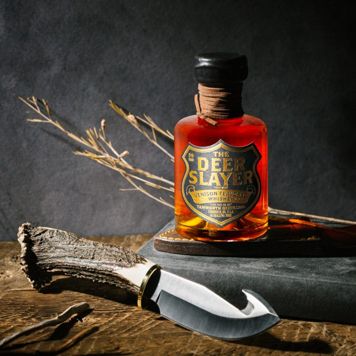 deer whisky 700x700 US Distillery Creates A Brandy That Smells Like Death, A Whiskey That Taste Like Deer And A Bourbon Made From Oil Found In A Beavers Castor Sac