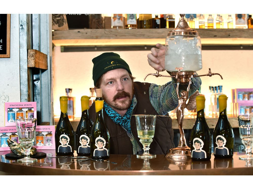Edmonton's Strathcona Spirits Finds Absinthe A Long Journey photo