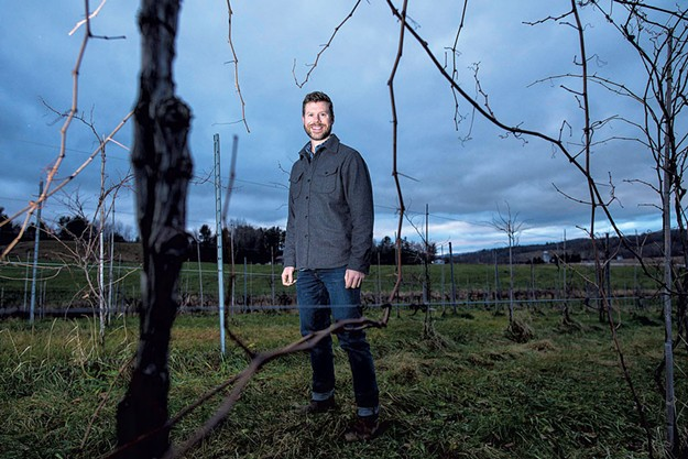 Master Sommelier David Keck Puts Down Roots In A Vermont Vineyard photo
