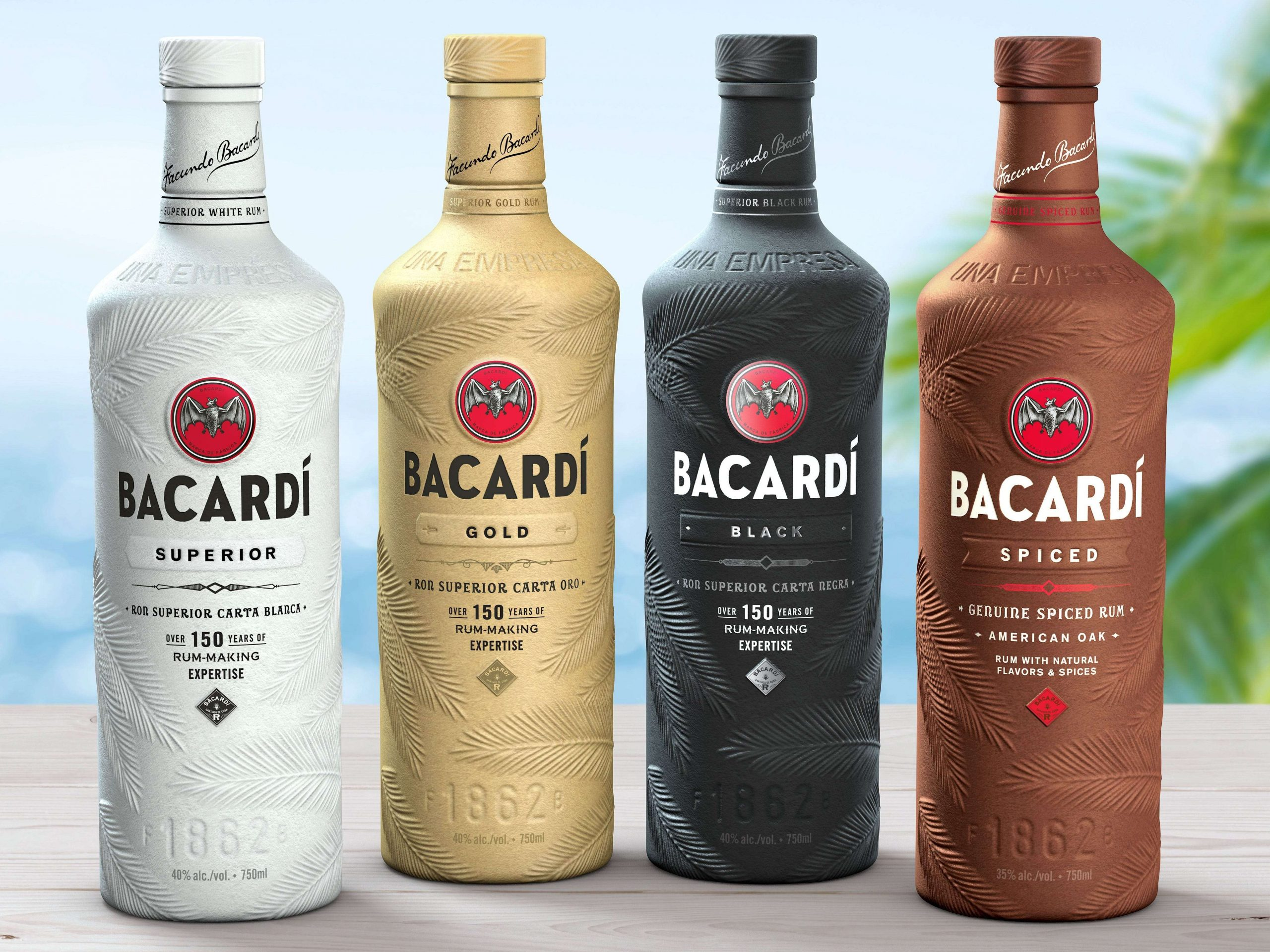 Bacardi Reduces Plastic Waste With The Launch Of The World's First Fully Biodegradable Spirits Bottle photo