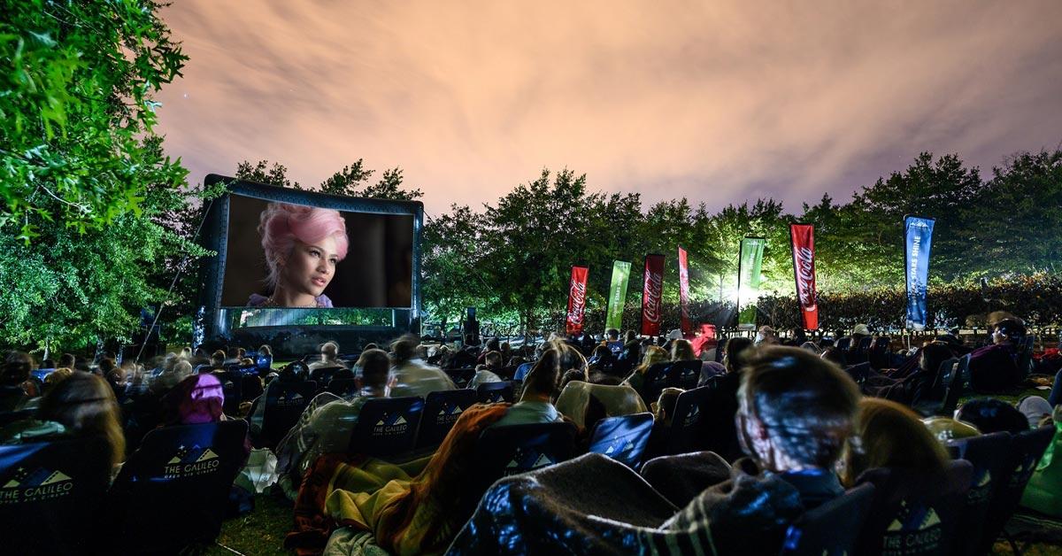 The Galileo Open Air Cinema 2020 Schedule photo