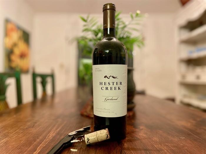 Inwine Wednesday: Hester Creek Estate Winery Garland photo