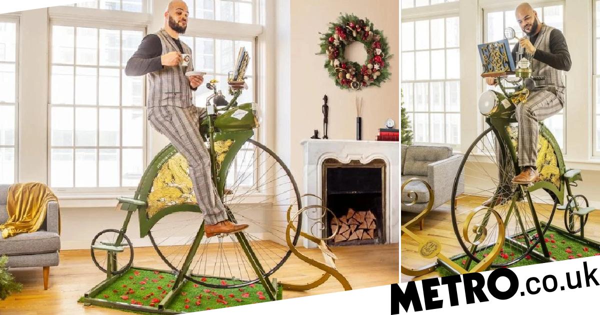 Hendrick's Gin Launches £1,800 High Wheel Exercise Bike photo
