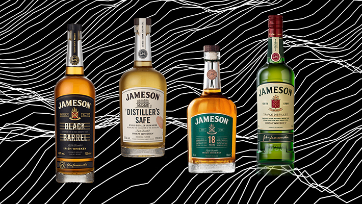 Every Bottle Of The Core Jameson Irish Whiskey Line, Ranked photo