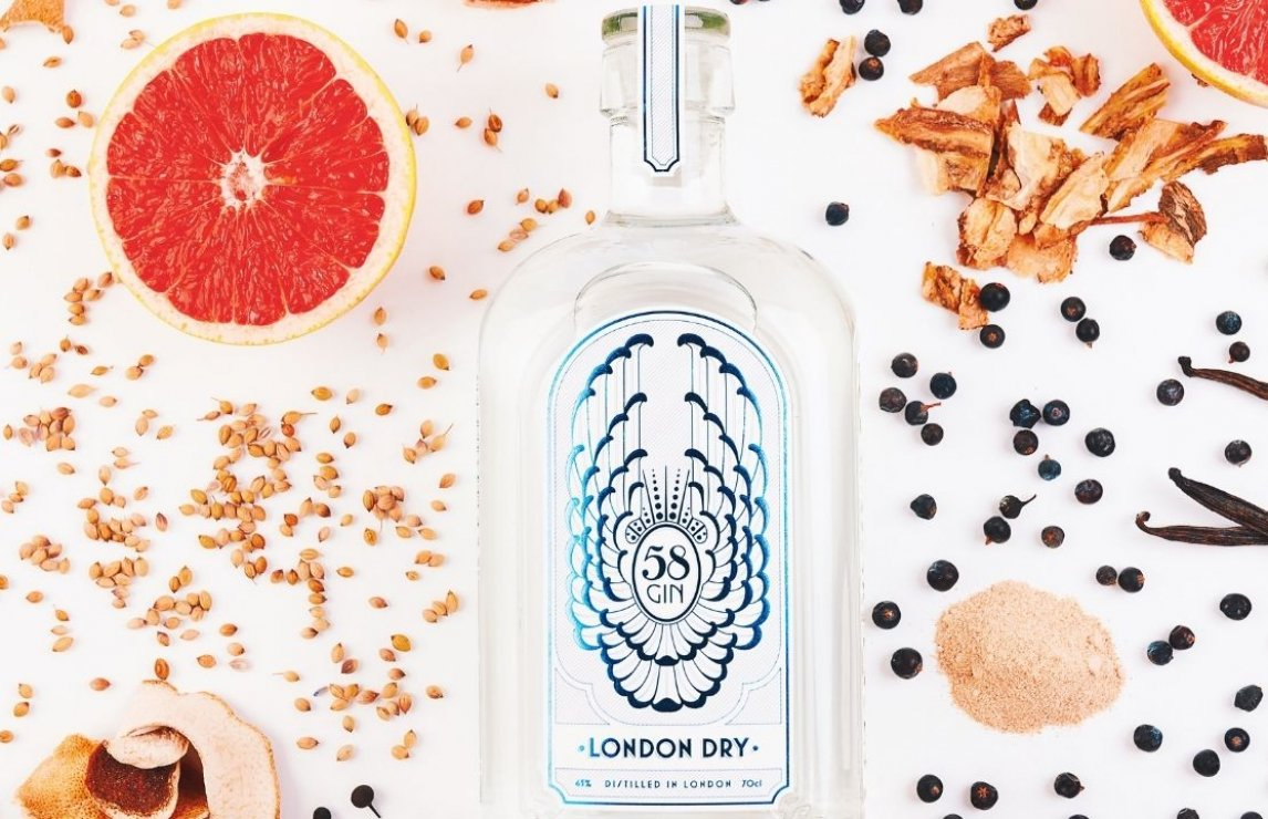 Uk Gin Producer Of The Year, 2020: 58 Gin photo