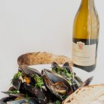 Mussels In Creamy Lemongrass Sauce Paired With Rietvallei Sauvignon Blanc 2020 photo