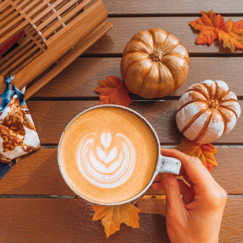 pumpkin spice latte Marc Zboch Shares 5 Hot Drinks to Warm You Up During the Winter Months