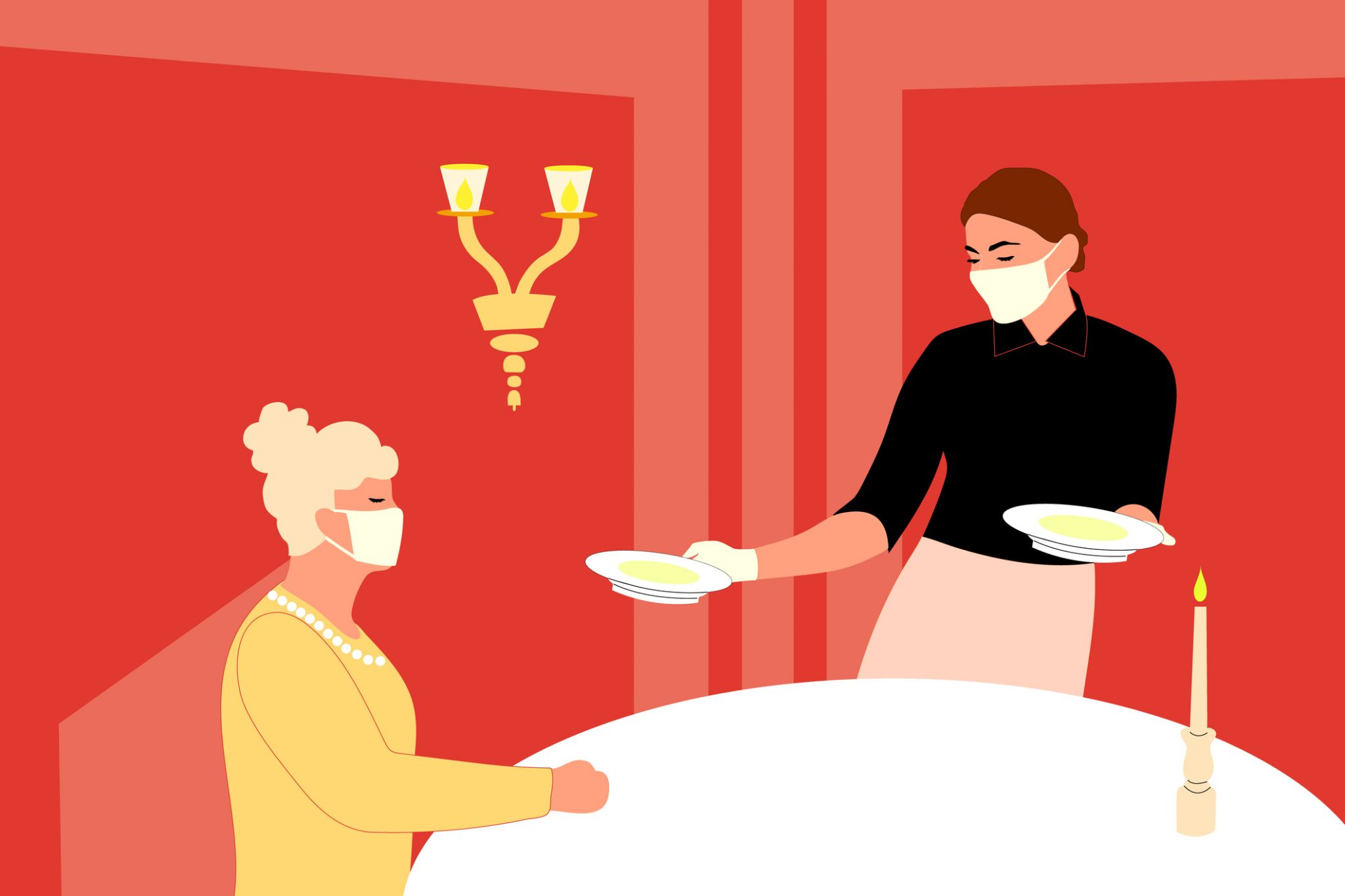 What Restaurant Workers Were Afraid To Say About Indoor Dining photo