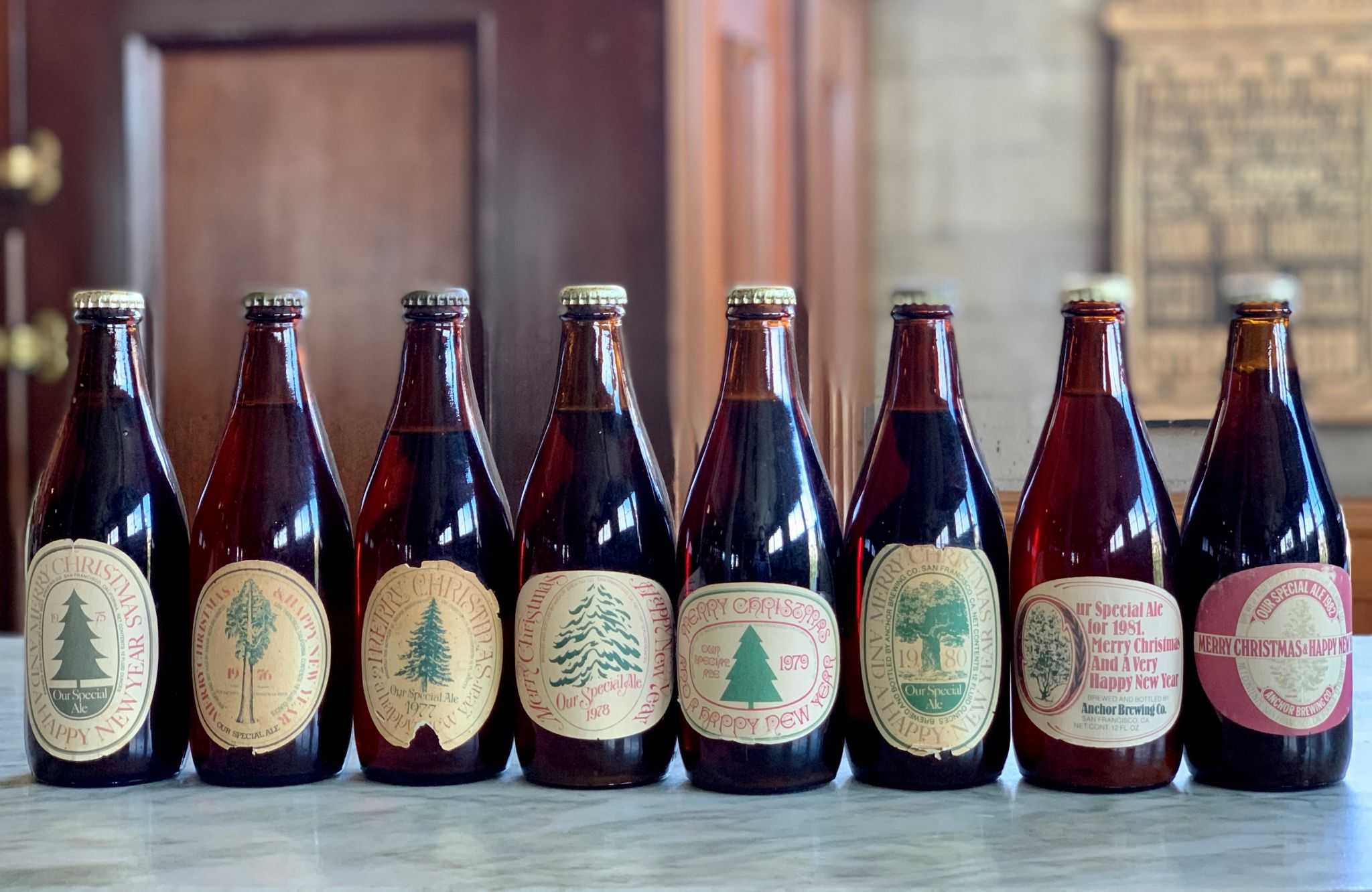 Anchor Brewing Is Selling Beers From Christmases Past photo