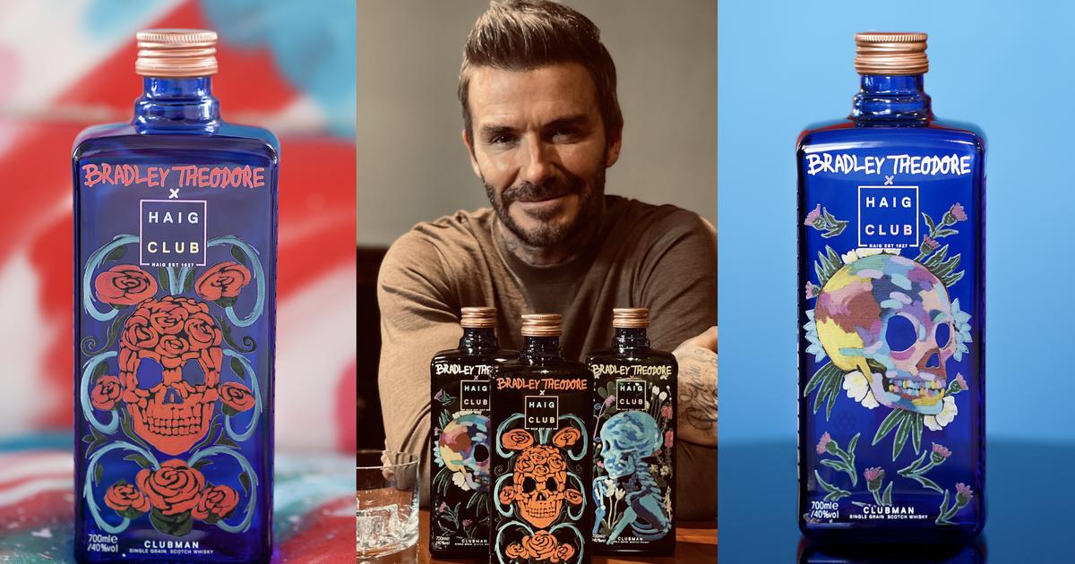 David Beckham Reveals Next Artist Collaboration For Bottle Design photo