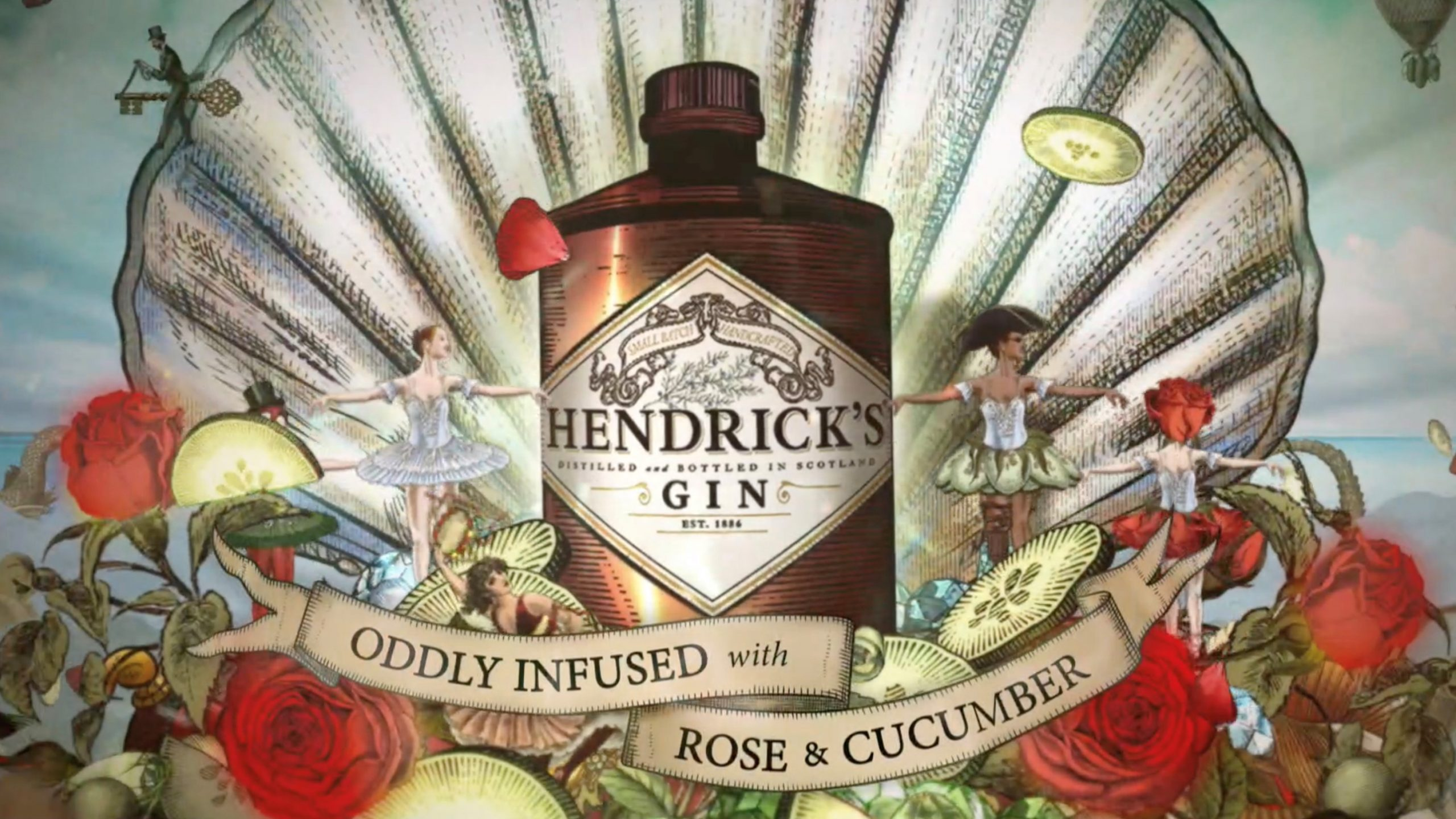 Hendrick's Gin Launches A New Tvc For The Festive Season photo