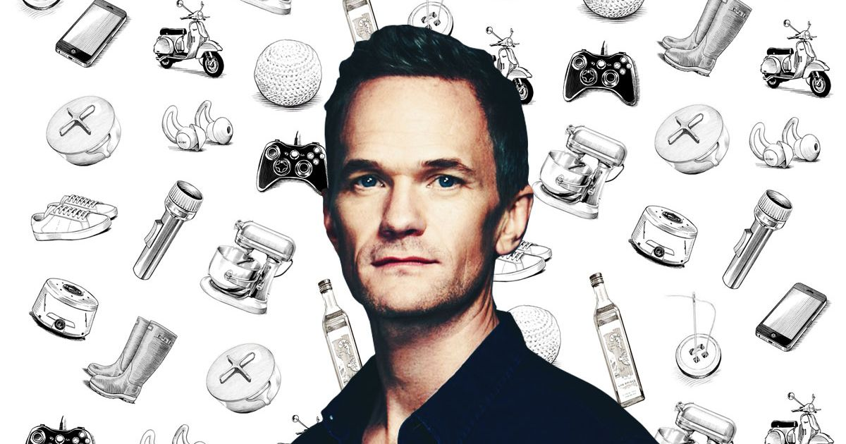 What Neil Patrick Harris Can't Live Without photo