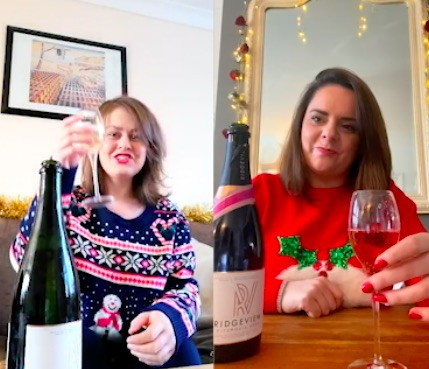 Ridgeview Wine Estate Works With Yesmore For Christmas Social Media Campaign photo