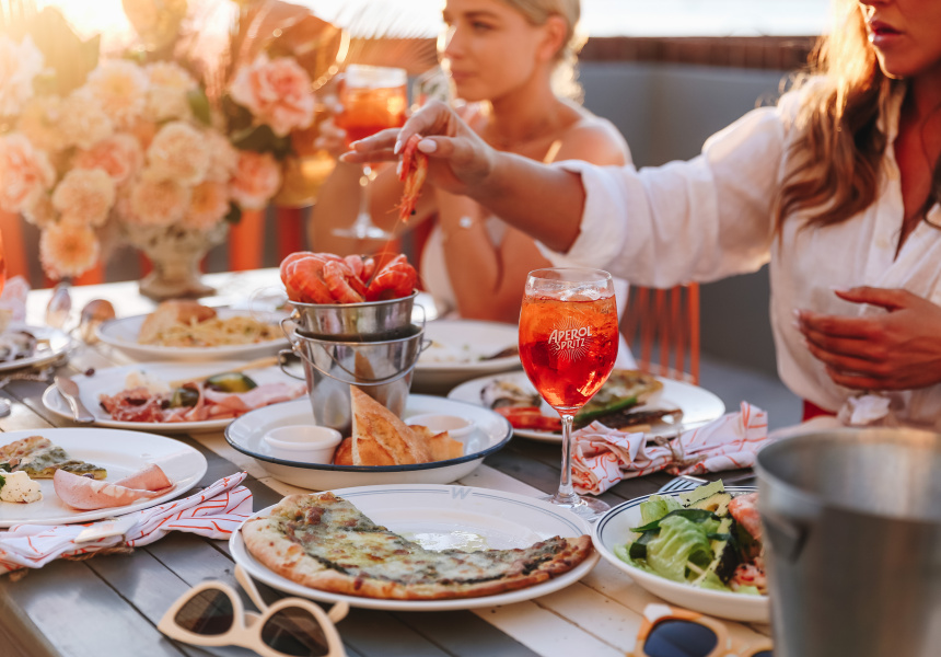 Win A Glamorous Pop-up Spritz Experience At Home With Aperol Spritz photo