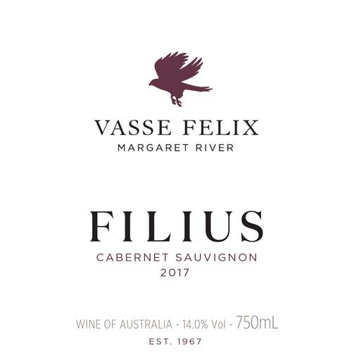 Vasse Felix 2017 Filius Cabernet Sauvignon (margaret River) photo