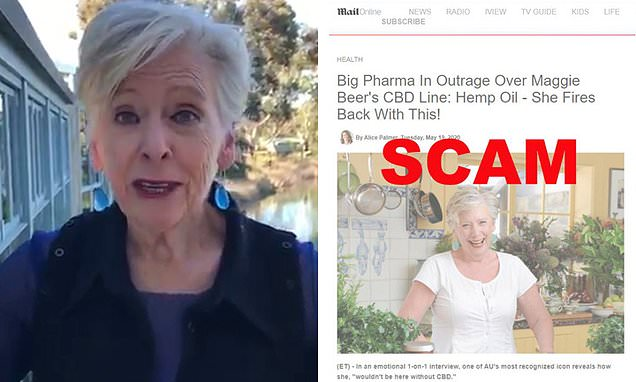 Maggie Beer's Disgust Over Scammers Using Her Name To Pedal Hemp Oil photo