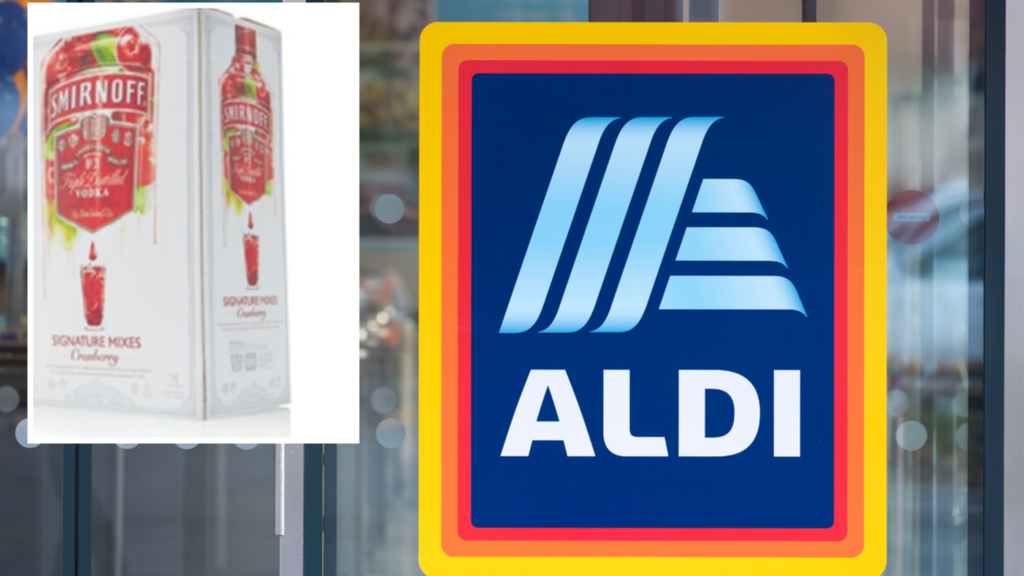 Aldi Drops All-new 2l Vodka Cask photo