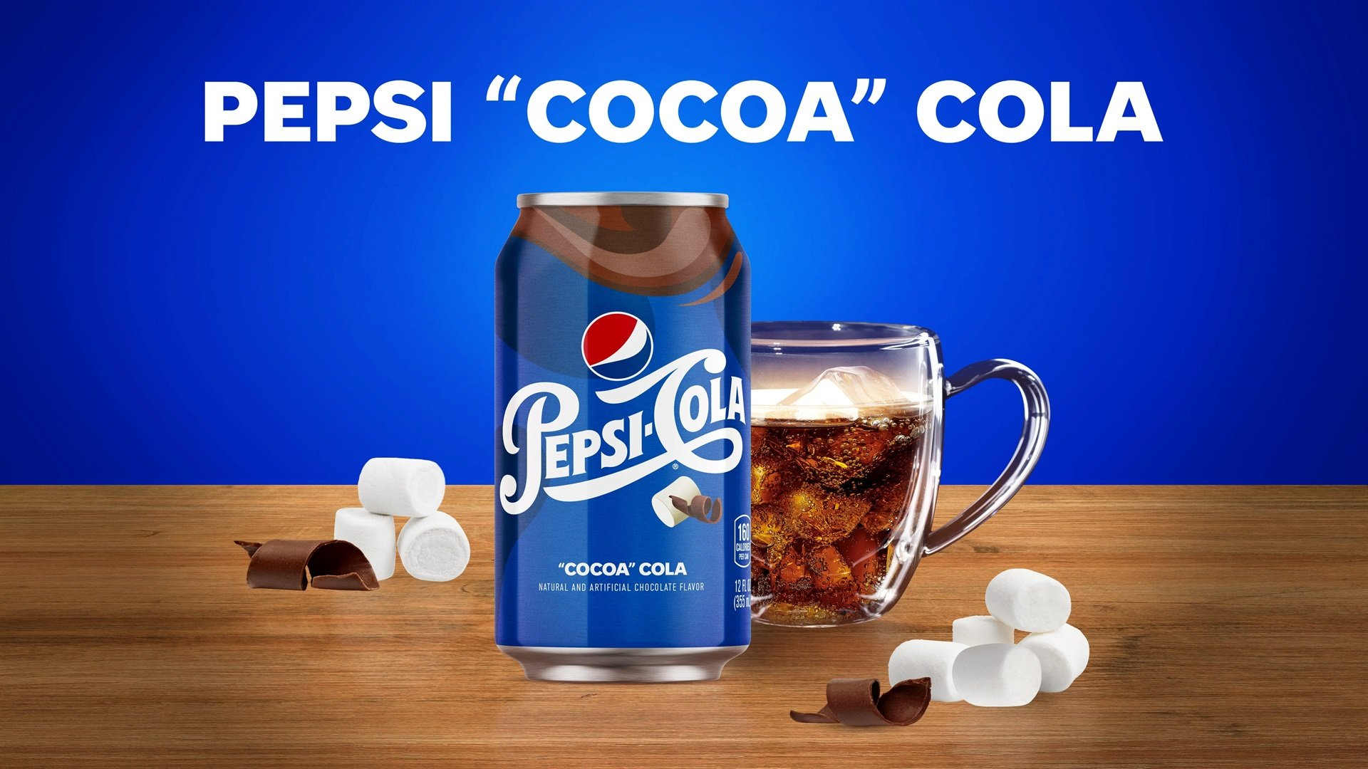 Pepsi Is Launching 'cocoa' Cola, A Drink Made To Taste Like Hot Chocolate With Marshmallows photo
