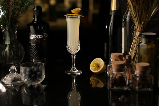 Brockmans 75 – Brockmans Gin & Champagne Create Festive Holiday Sparkle photo