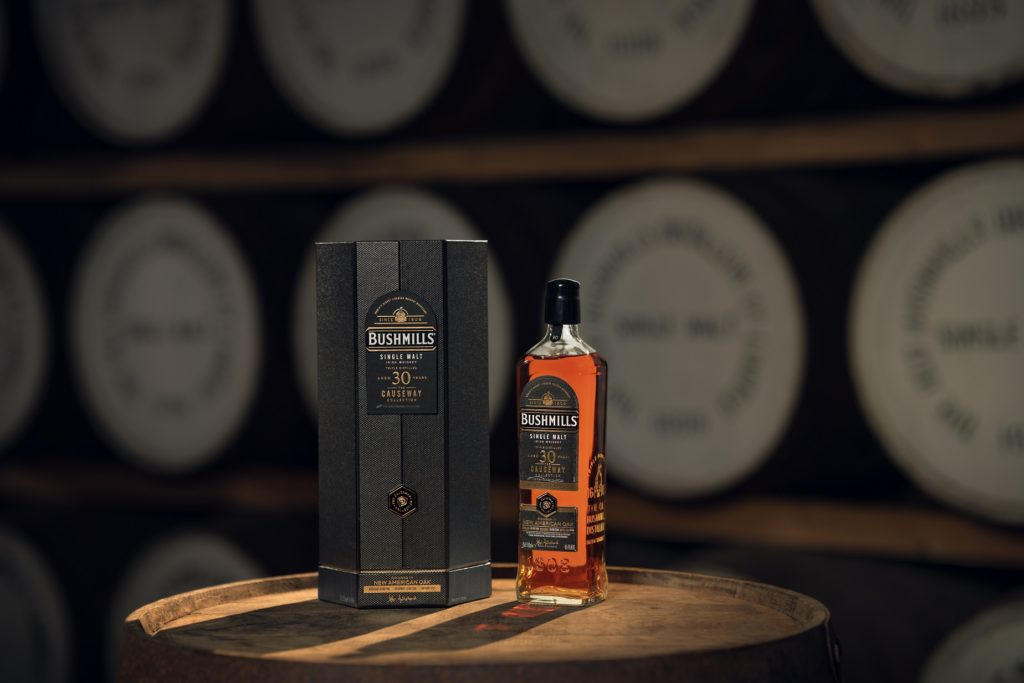 Bushmills Reveals 30 Year Old New American Oak Cask Single Malt, Exclusive To Ari At Dublin And Cork Airports photo