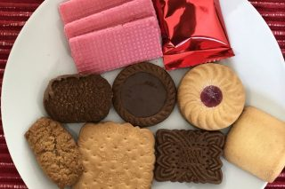 It's Never Too Early To Open Those Choice Assorted Biscuits photo