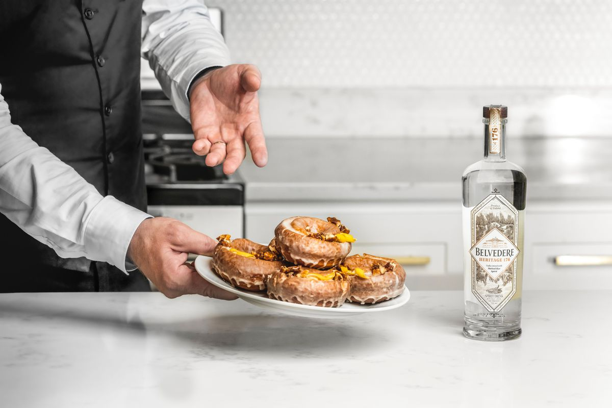 Belvedere Vodka-glazed Donuts Now Sold At This Manhattan Shop For A Limited Time photo