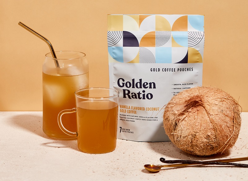 Golden Ratio Takes Coffee In New Direction, Turns 'water Into Gold' With A Barely Roasted Bean photo
