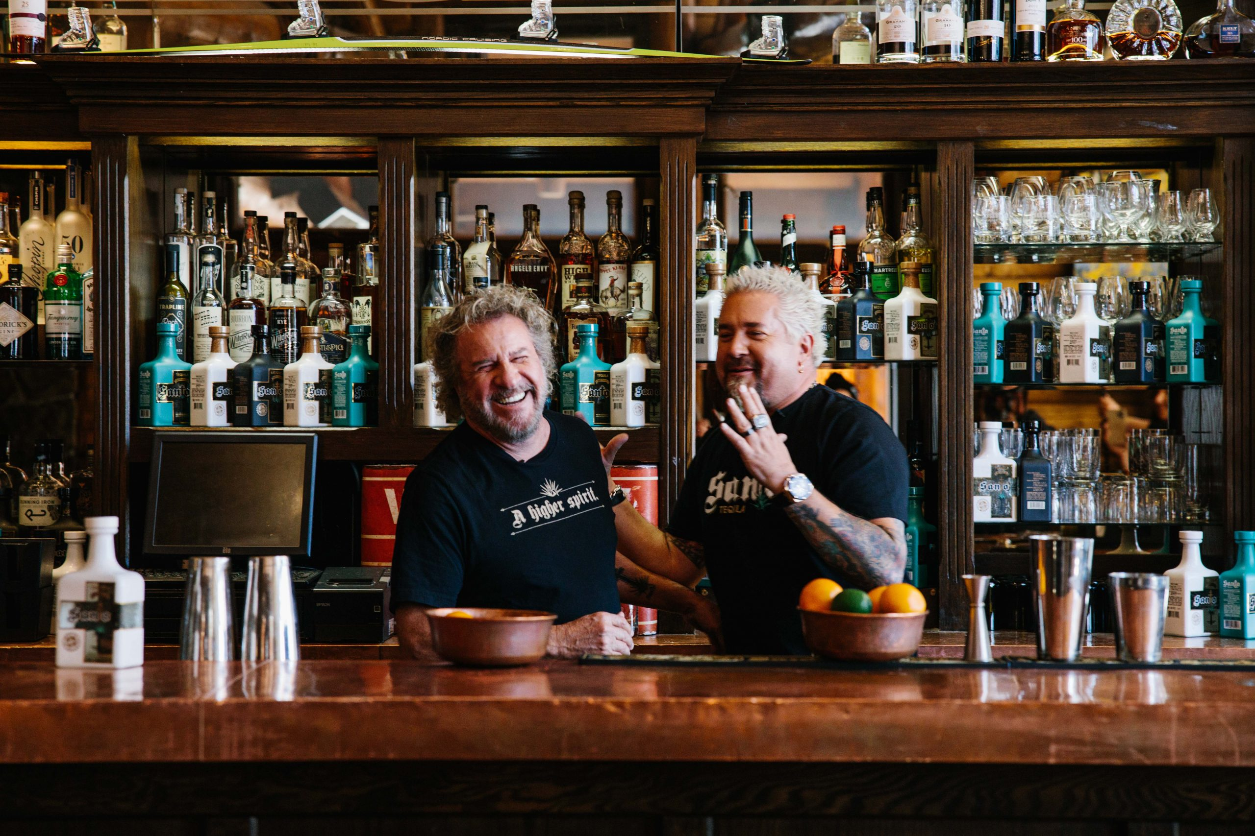 Sammy Hagar And Guy Fieri Talk Tequila Brand: 'we Do It Our Way' photo