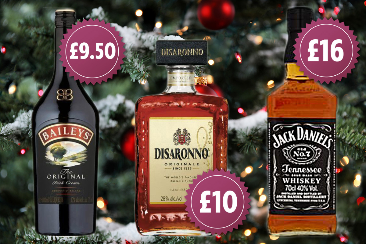 Cheapest Christmas Alcohol: Where To Buy Disaronno, Baileys And Jack Daniel's photo